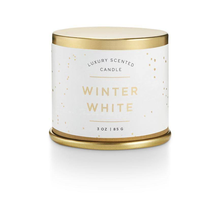 Luxury Scented Candle - Winter White, 3oz