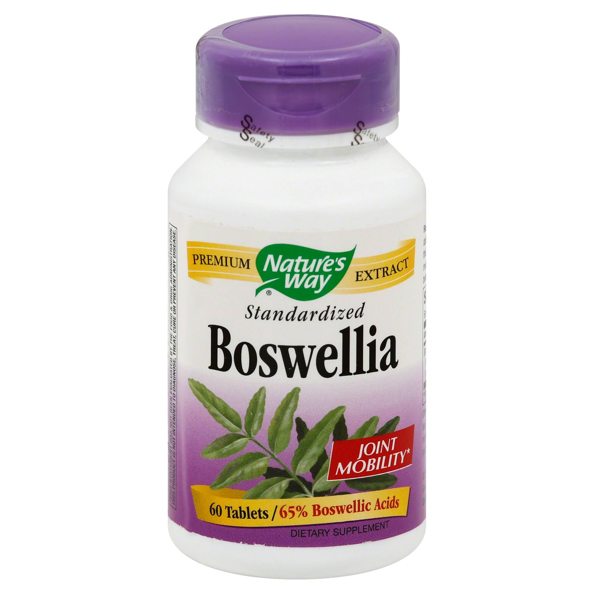 Natures Way Boswellia Standardized - 60 Tablets