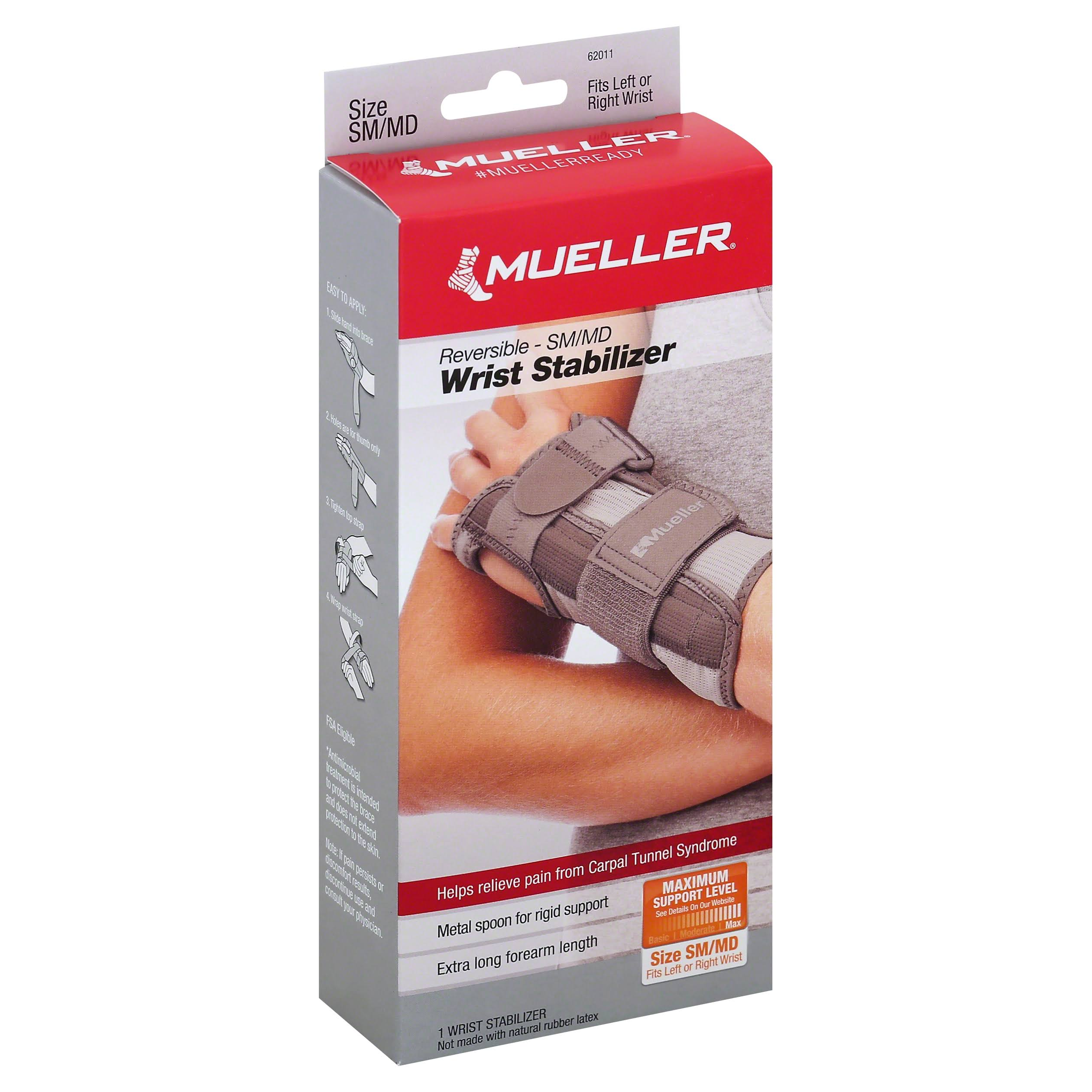 Mueller Sport Care Carpal Tunnel Wrist Stabilizer - Small, Medium, Taupe