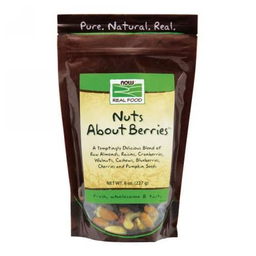 Now Foods Real Food Nuts About Berries - 227g