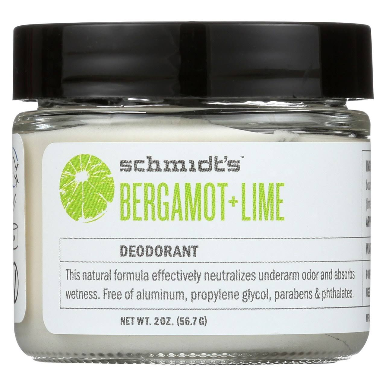 Schmidt's Bergamot and Lime Deodorant