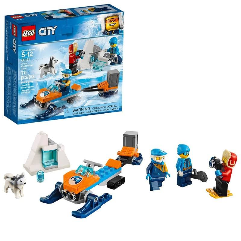 Lego City Arctic Exploration Team Toy Set - 70pcs