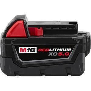 Milwaukee M18 18-Volt Lithium-Ion XC 5.0 Ah Extended Capacity Battery