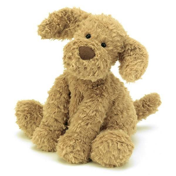 Jellycat Fuddlewuddle Tan Puppy - 23cm