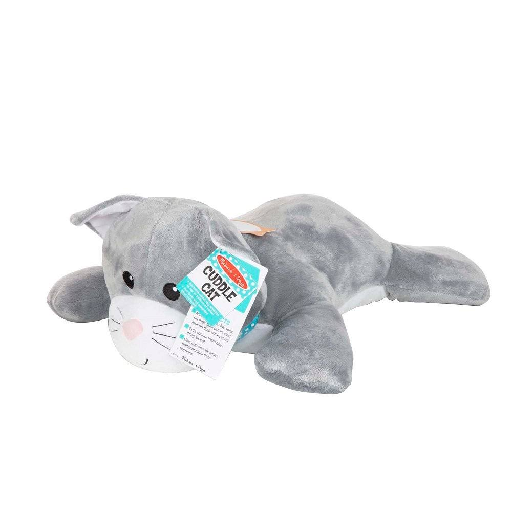 Melissa & Doug Cuddle Cat Jumbo Plush
