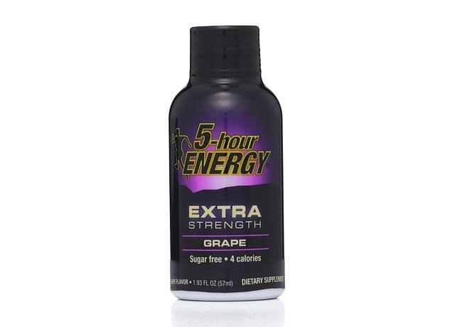 5-Hour Energy Extra Strength Energy Drink - Grape, 57ml