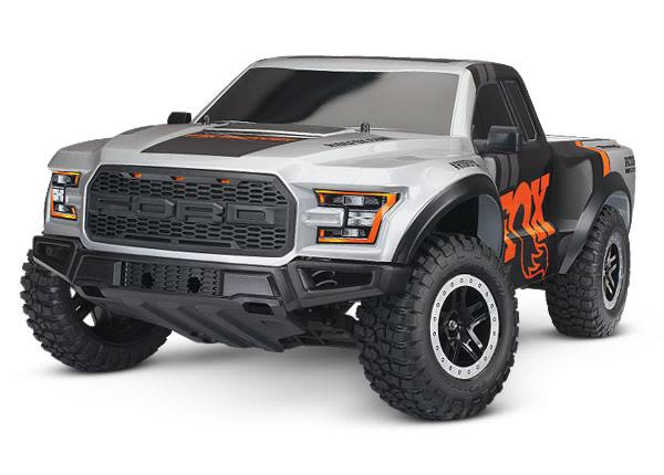 Traxxas 2017 2WD Ford Raptor, Fox Body TRA580941T6