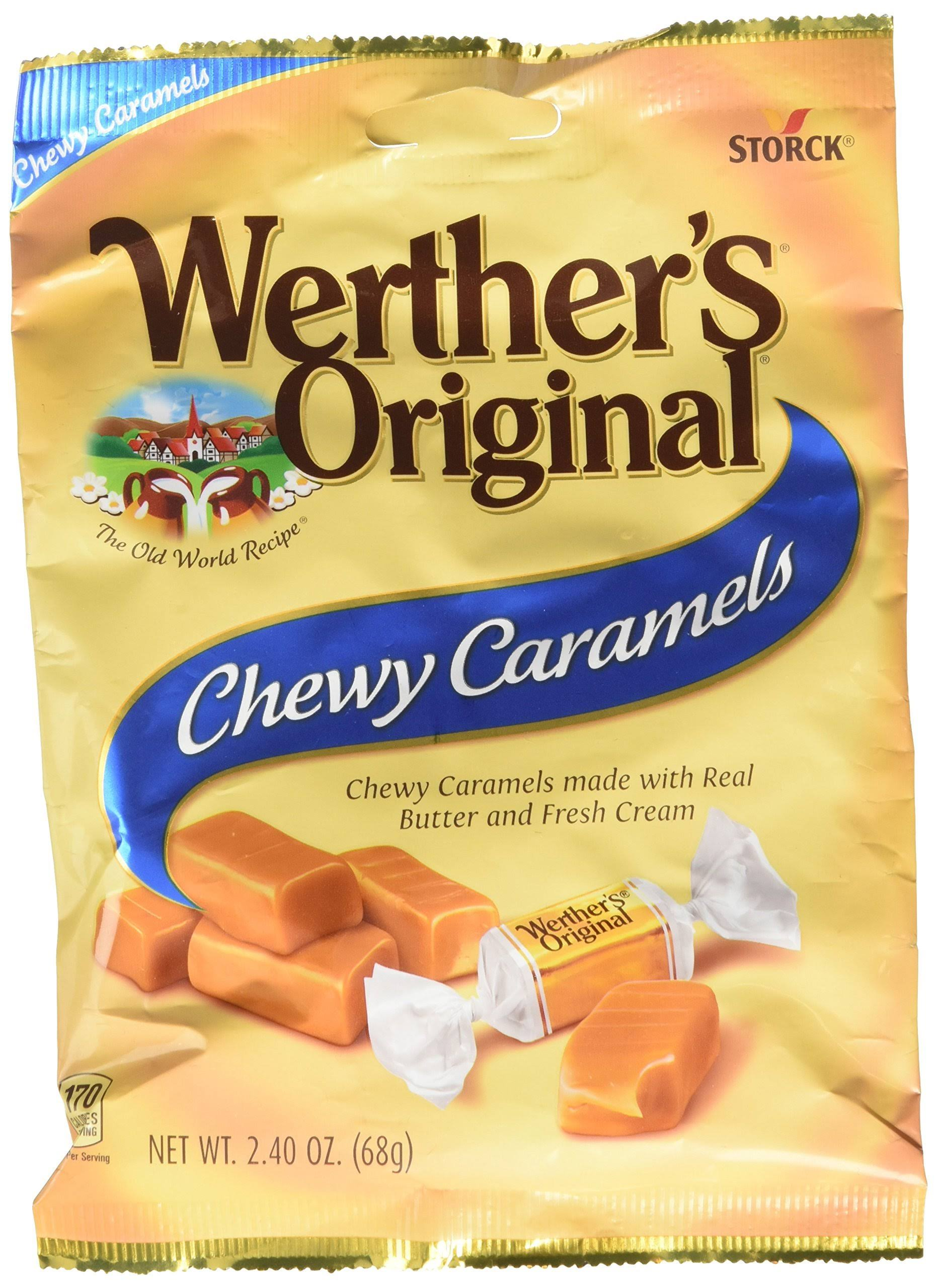 Werther's Original Chewy Caramel Candy - 2.40oz