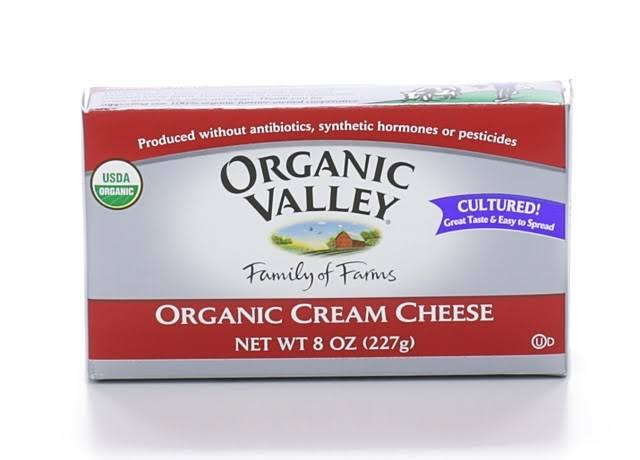 Organic Valley Cream Cheese - 8 oz