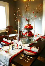 Dining Table Centerpiece Ideas For Everyday by Dining Tables Dining Table Christmas Decorating Ideas Dining