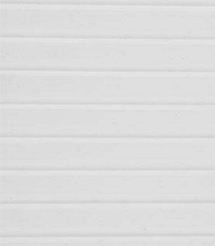 Plastruct Clapboard Sliding Sheet - White