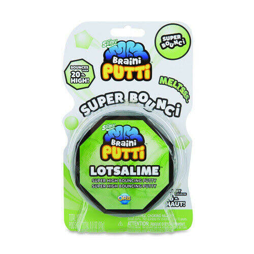The Orb Factory OrbSlimy Braini Putti Lotsalime Kids Bouncy Safe Silly Putty 90g. Free Shipping