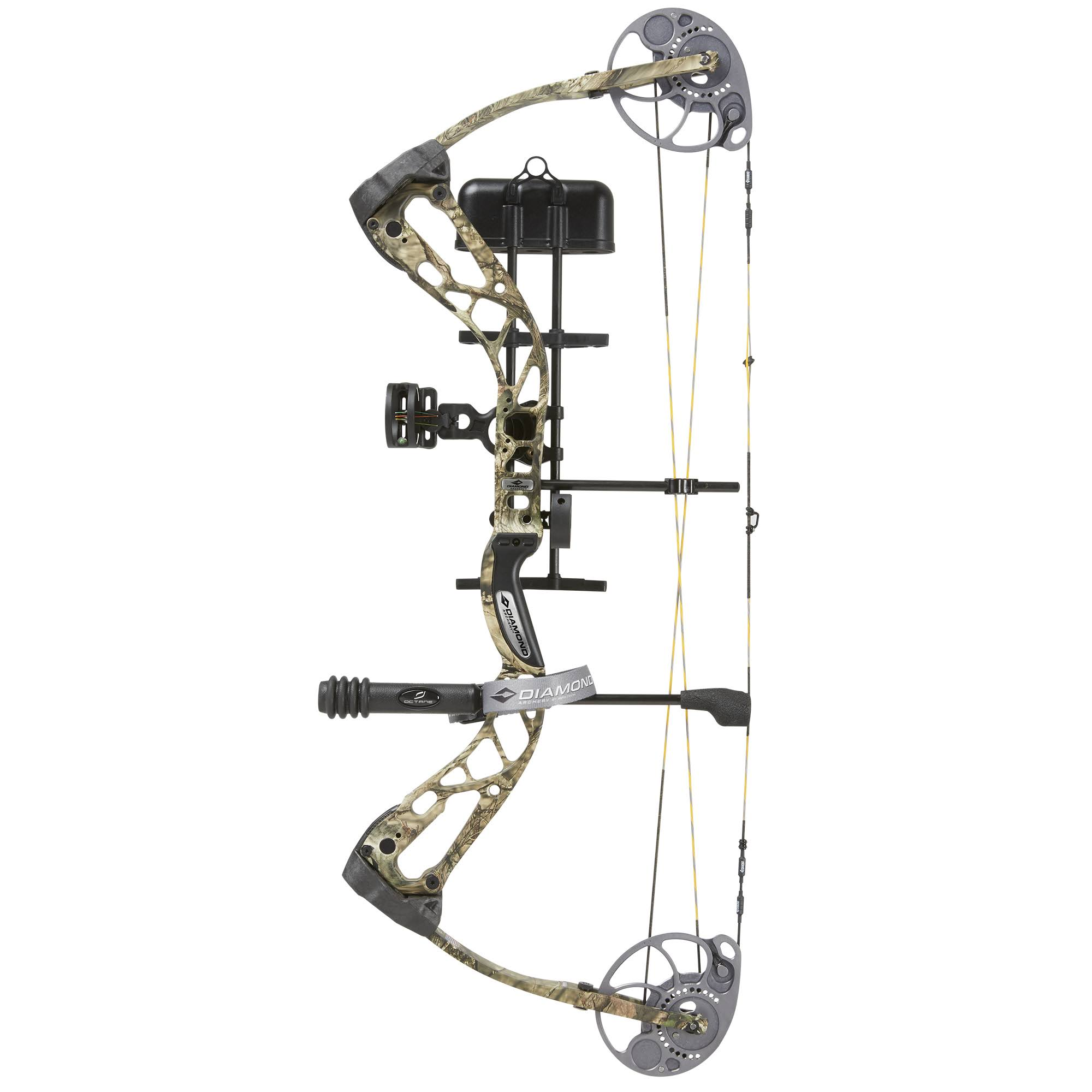 Diamond Archery Edge SB-1 Compound Bow Package - 7 to 70lbs, Mossy