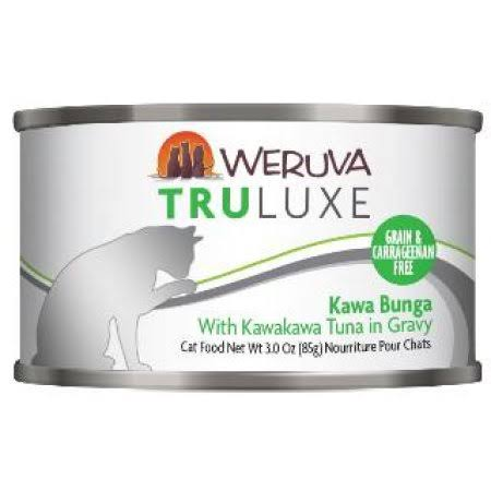 Weruva Grain Free Truluxe Kawa Booty Canned Cat Food - Adult, Kawakawa Tuna