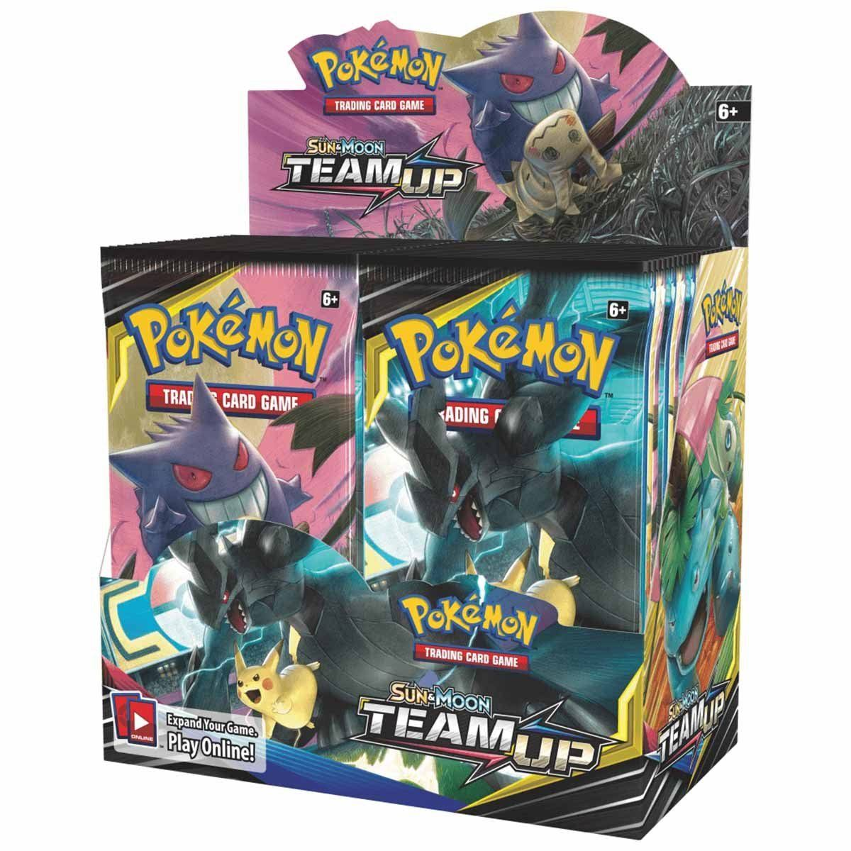 Pokemon Tcg: Sun & Moon Team Up Booster Box