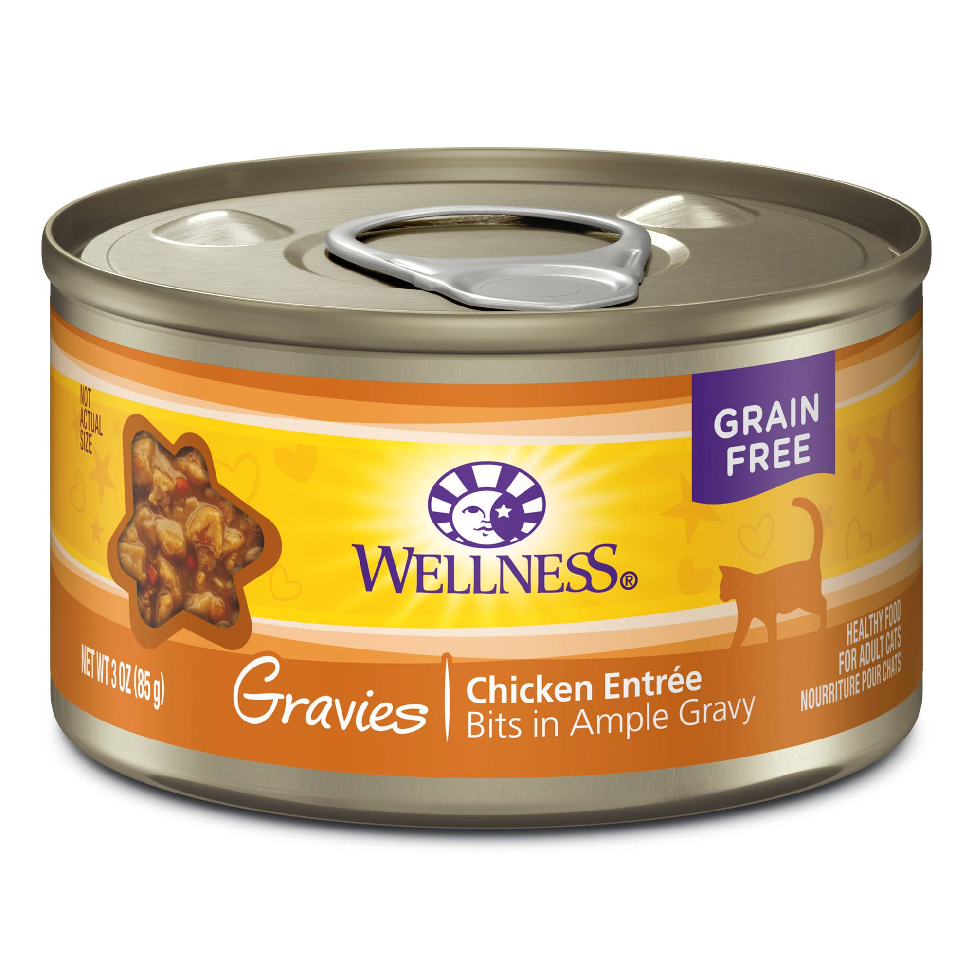 Wellness Complete Health Cat Gravies - Chicken Entree
