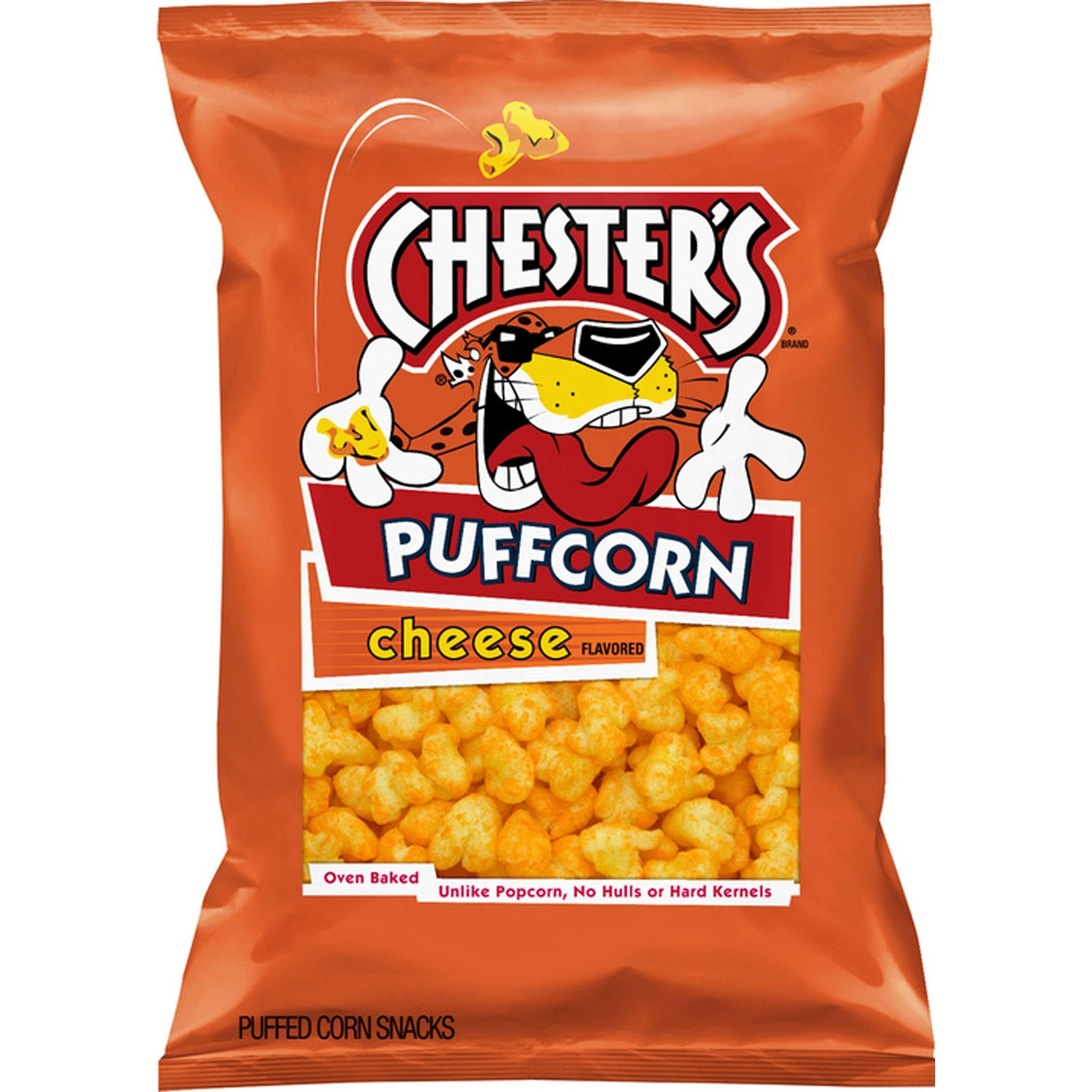 Chesters Puffcorn, Cheese Flavored - 4.25 oz