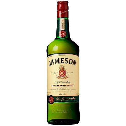 Jameson Triple Distilled Irish Whiskey - 1 Litre