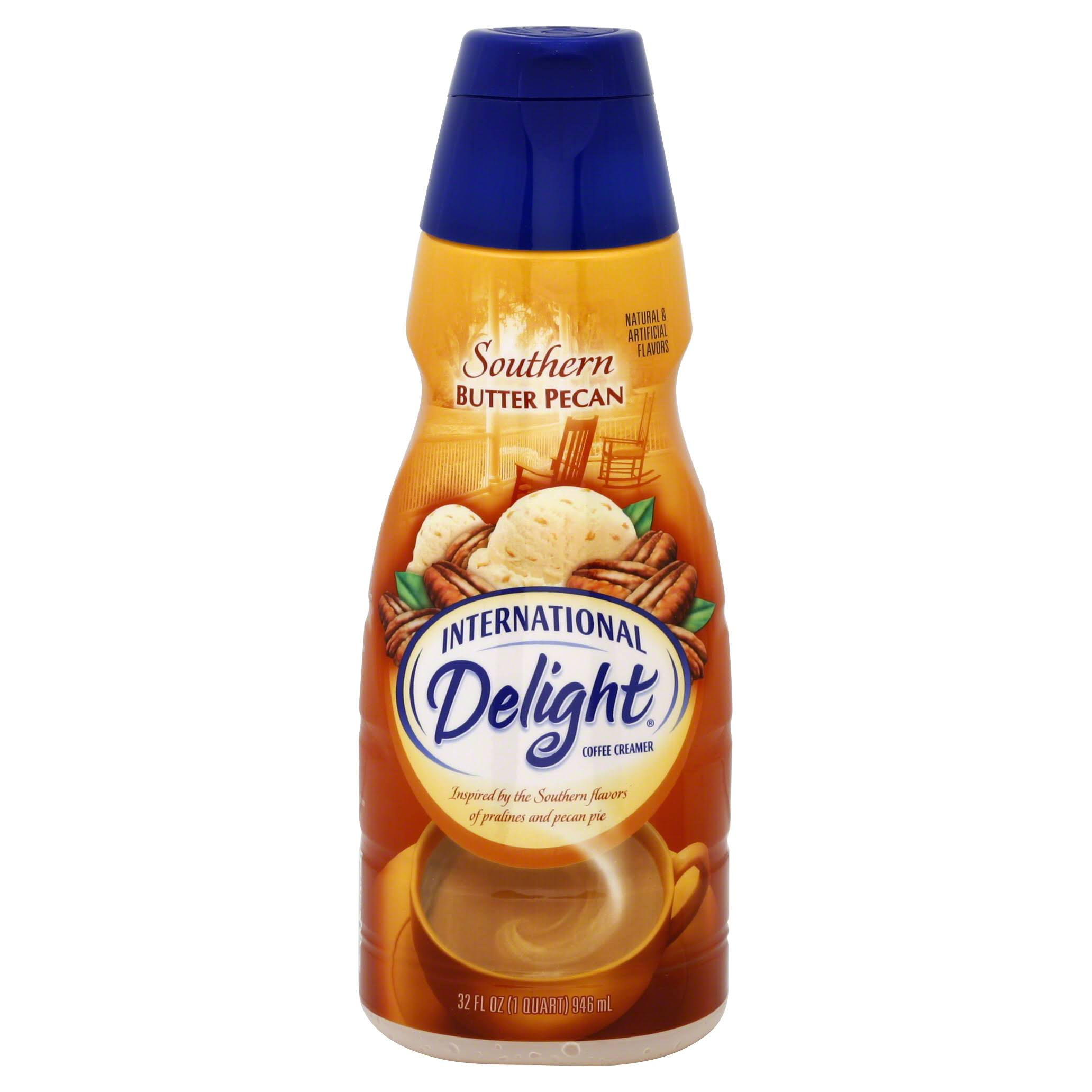 International Delight Southern Butter Pecan Coffee Creamer - 32oz