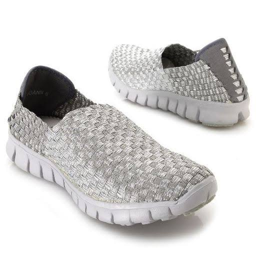 Corkys JOANN Women's Silver Slip on 10 M