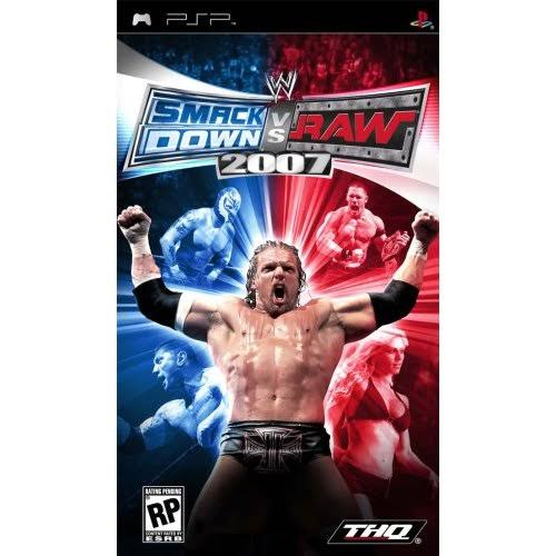 WWE Smackdown Vs Raw 2007 - Psp