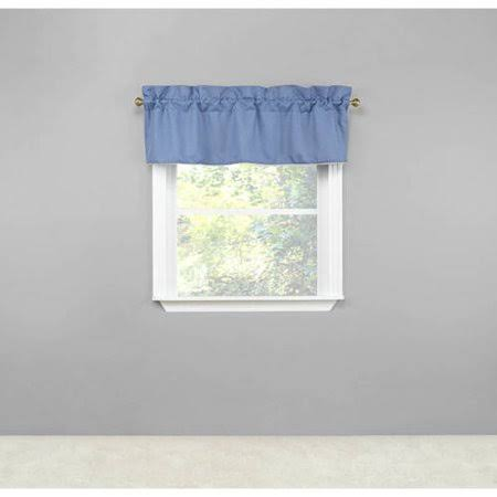 "Renaissance Home Fashion Emmett Lined Straight Valance, 54 x 18,Colonial,54"" x 18"""