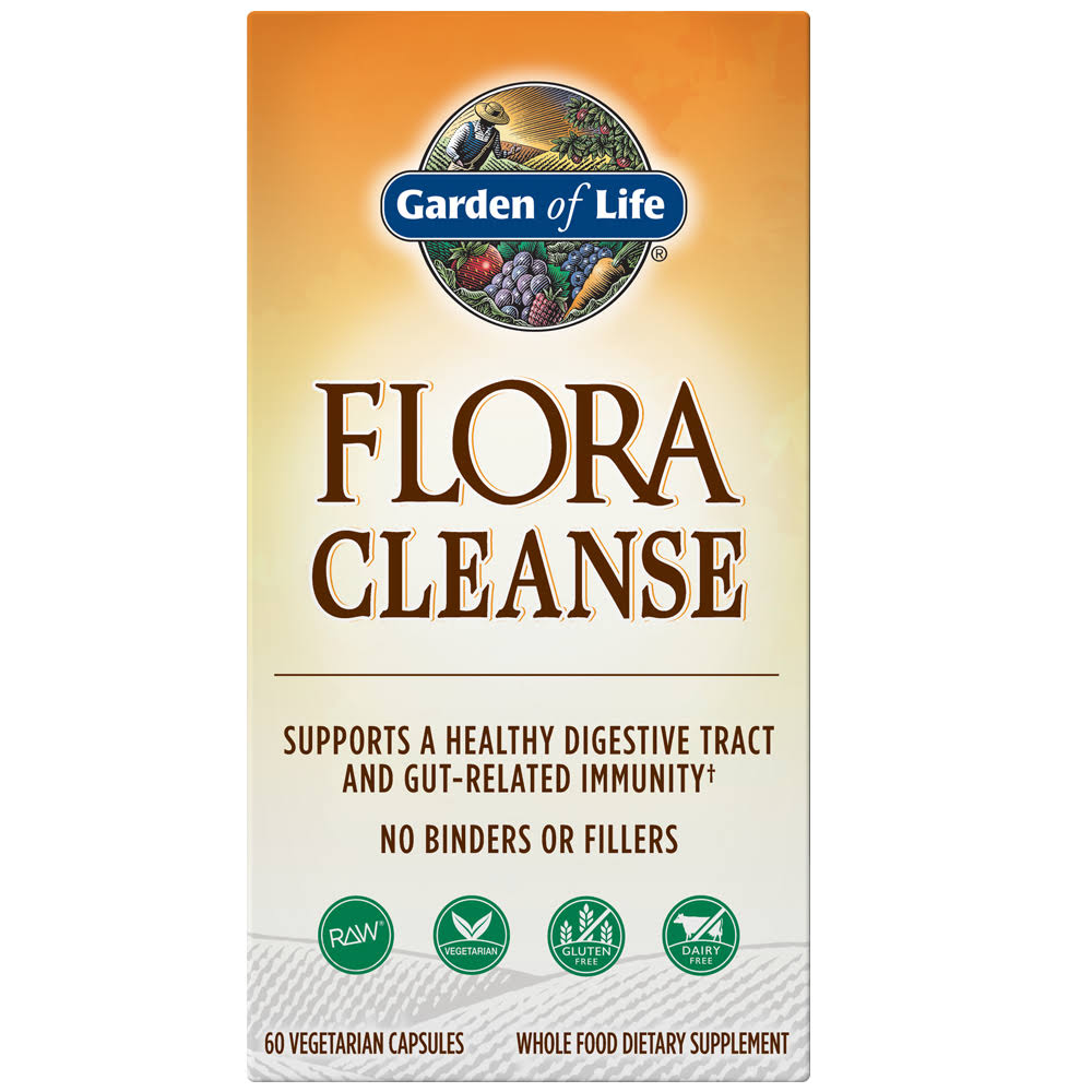 Garden of Life Flora Cleanse 60 Capsules