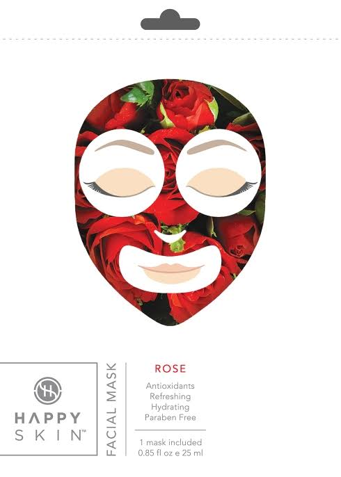 Happy Skin - Rose Facial Mask