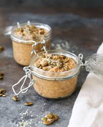 Are Pumpkin Seeds Called Pepitas by Pumpkin Spice Latte Overnight Oats With Maple Pepitas Domesticate Me