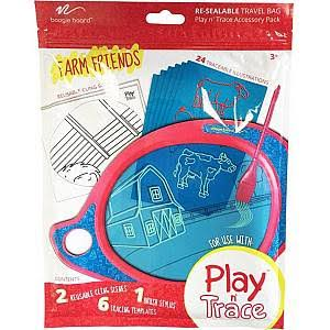 Play N Trace Activity Pack - Farm Friends
