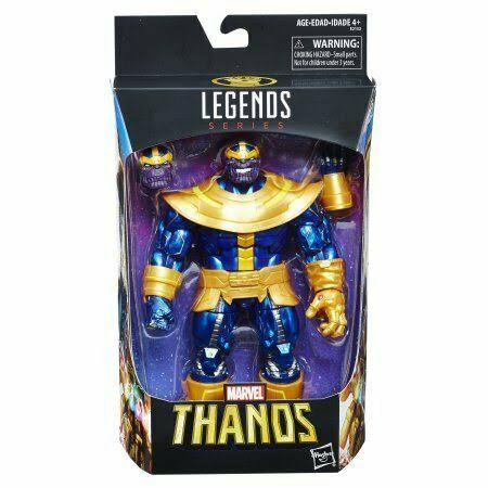 "Hasbro Marvel Legends Avengers 3 Infinity War 6"" Thanos Action Figure"