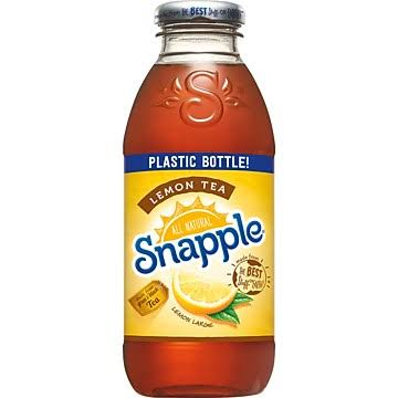 Snapple Lemon Tea - 16 fl oz bottle