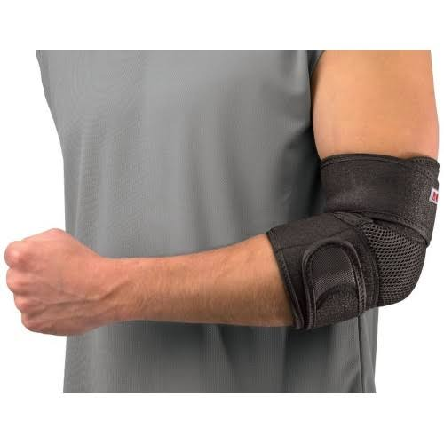 Mueller Adjustable Elbow Support - Black, One Size