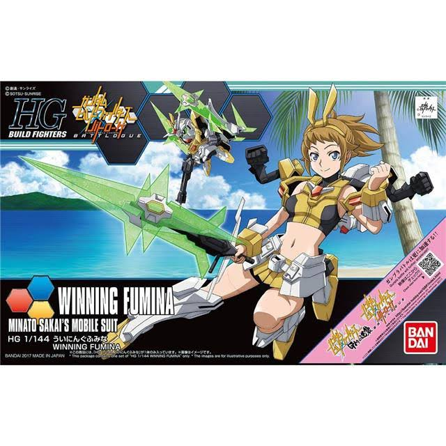 Bandai HGBF 1 / 144 Build Fighters: Winning Fumina Model Kit