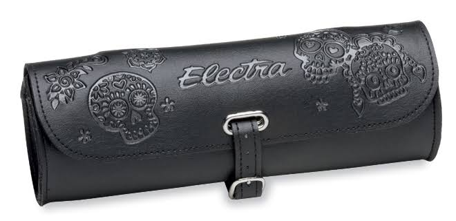 Electra Cylinder Bag Colour: Sugar Skulls