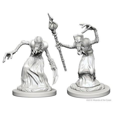 Dungeons & Dragons Mindflayers Nolzur's Marvelous Unpainted Miniature - 2 count