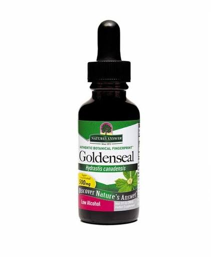 Nature's Answer Goldenseal Root Extract - Low Alcohol, 1oz
