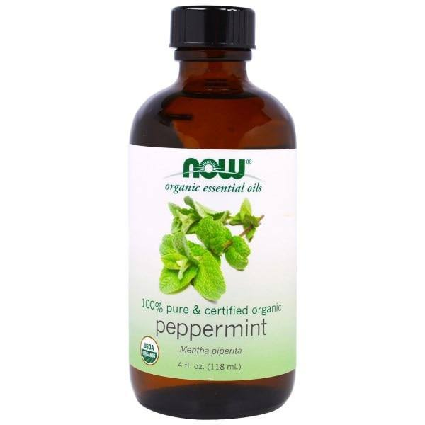 Now Foods Organic Essential Oils - Peppermint, 30ml