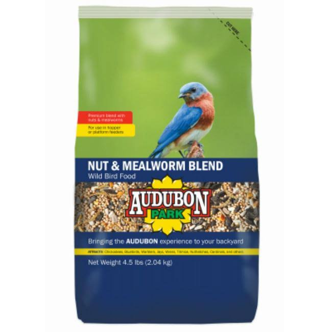Global Harvest Foods Ltd Bird Food - Nut & Mealworm Blend, 5lbs