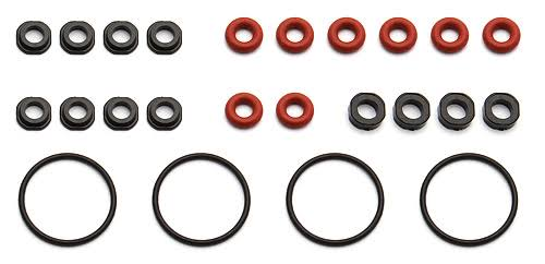 Associated Electronics 91491 V2 Shock Rebuilt Kit - 12mm