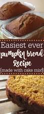 Cake Mix And Pumpkin by Easy Pumpkin Bread Recipe It U0027s Made With Cake Mix