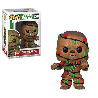 Funko Pop Star Wars Chewbacca With Lghts Vinyl Action Figure