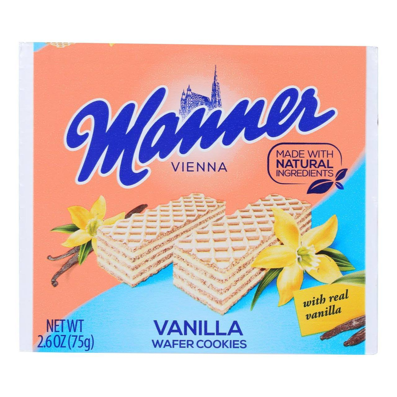 Manner Wafer Cookies, Vanilla