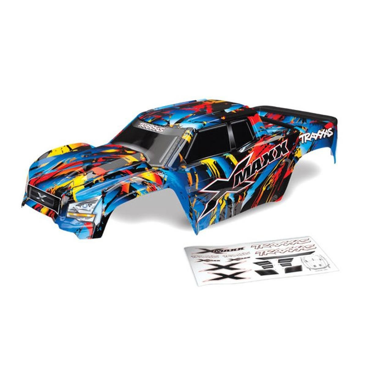 Traxxas X-Maxx Rock N Roll Painted Body Assembled W/tailgate Protector