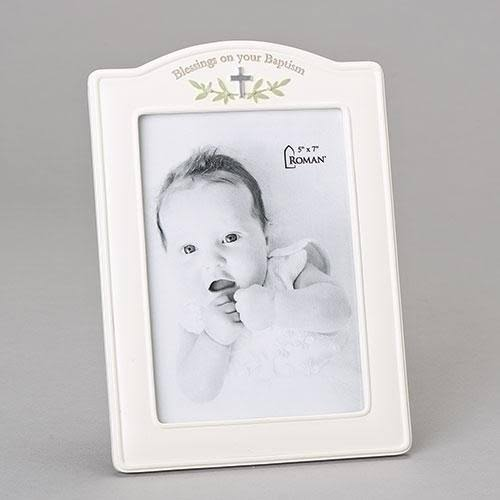 Roman, Inc. Blessings on Your Baptism Picture Frame