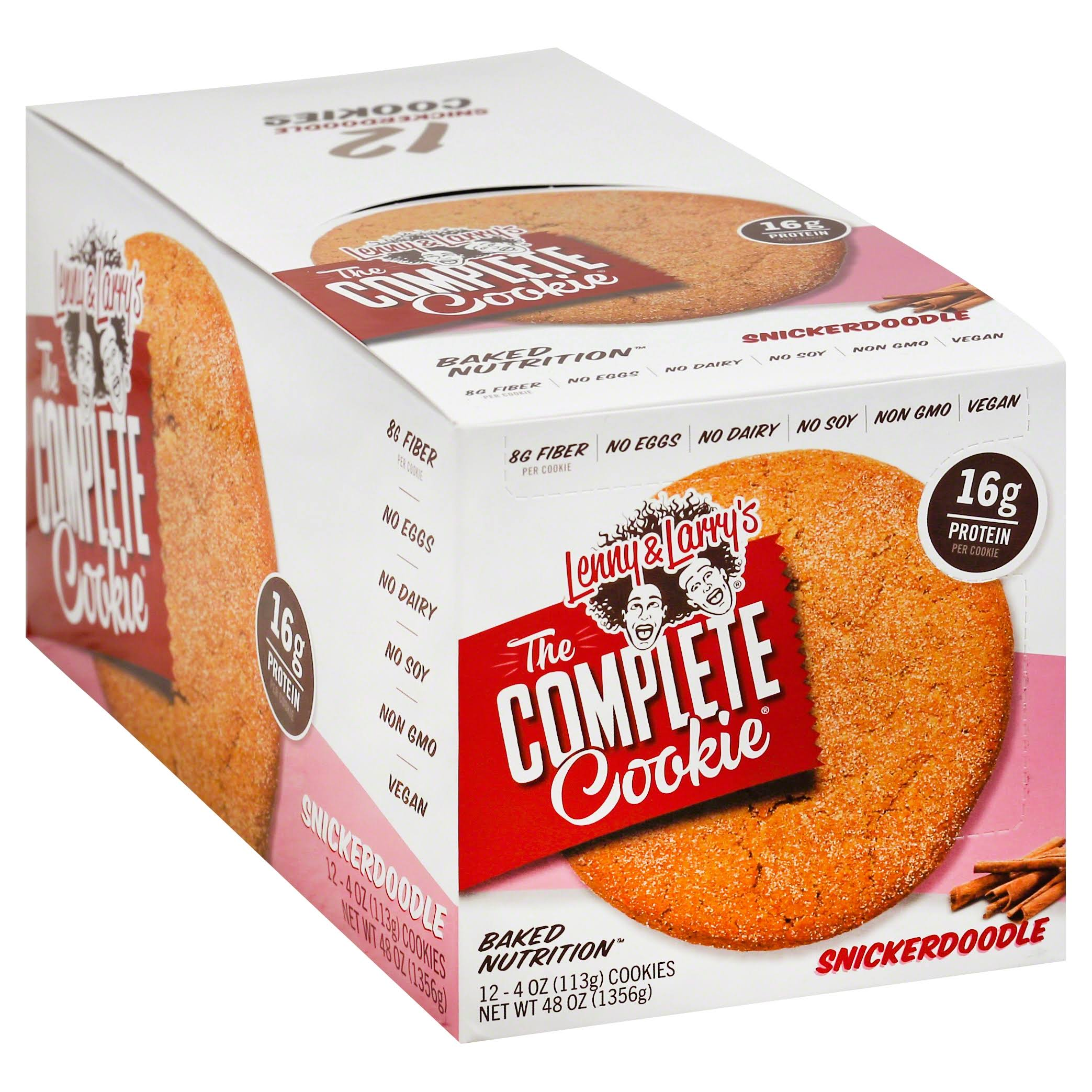 Lenny & Larry's The Complete Cookie - Snickerdoodle