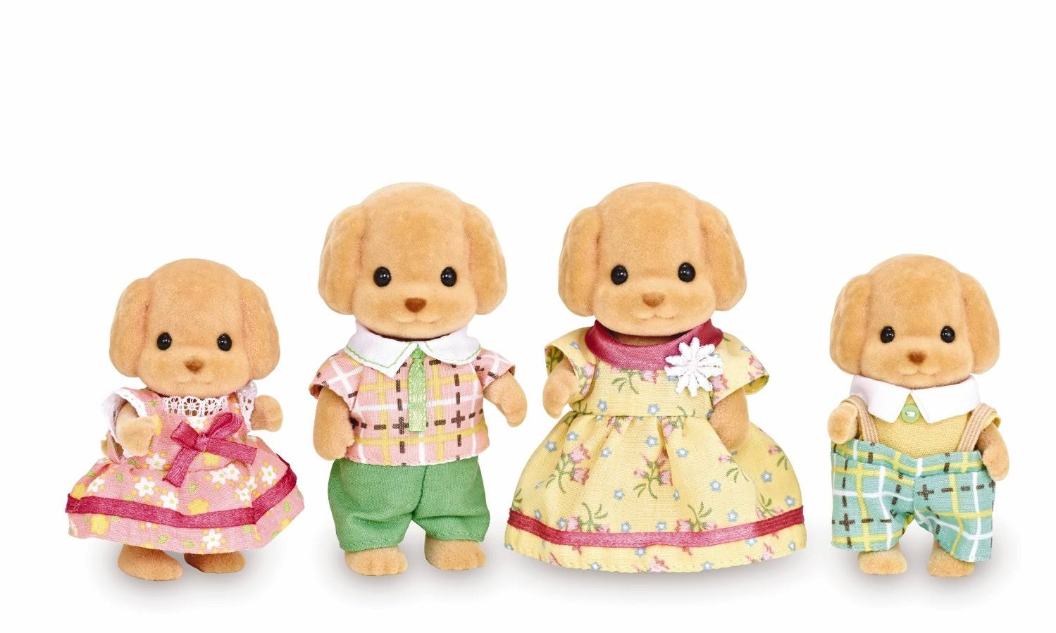 Calico Critters : Toy Poodle Family | Calico Critters | General | Delivery Guaranteed | 30 Day Money Back Guarantee | Best Price Guarantee