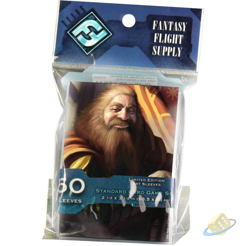 Fantasy Flight Games Lord of the Rings Card Sleeves Packs - Gimli, 50ct