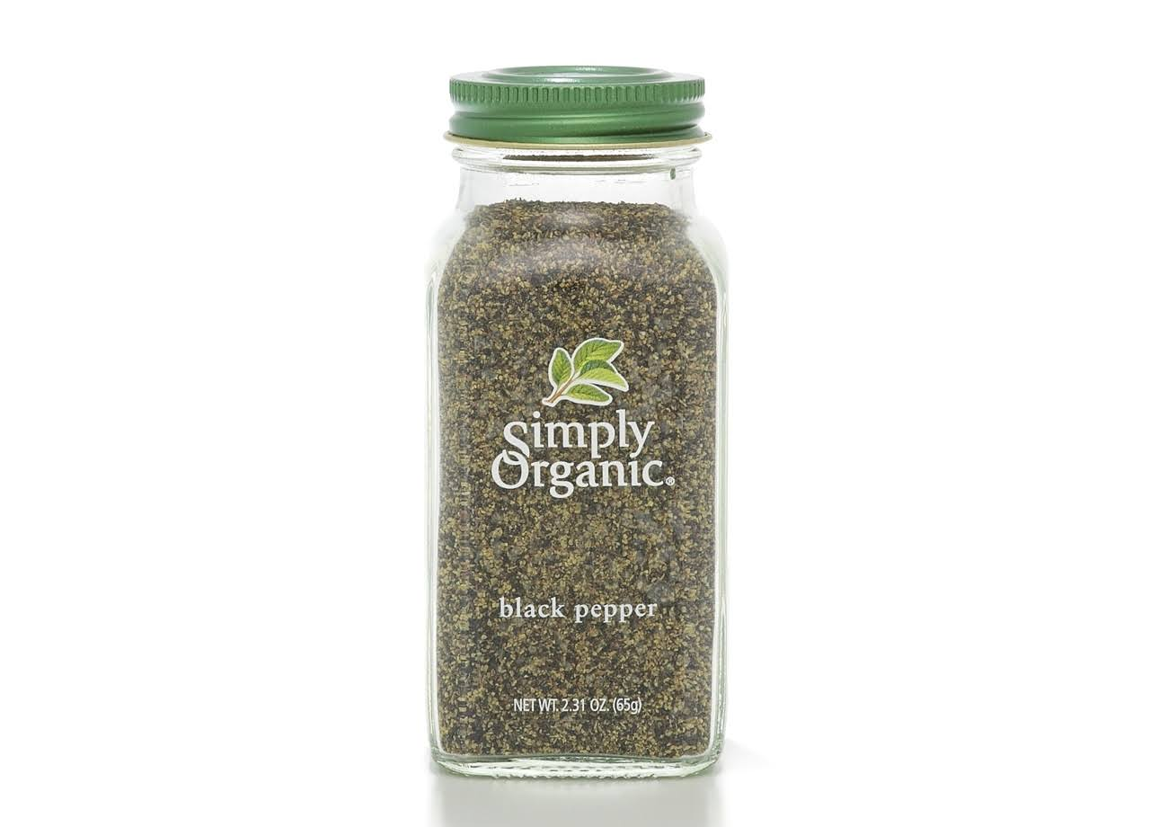 Simply Organic Black Pepper - 2.31oz