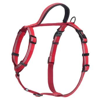 The Company of Animals Halti Nylon Walking Dog Harness - Red, Medium, 56-76cm